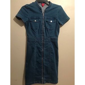 Denim guess dress